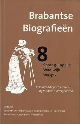 Cover of Brabantse biografieën 8