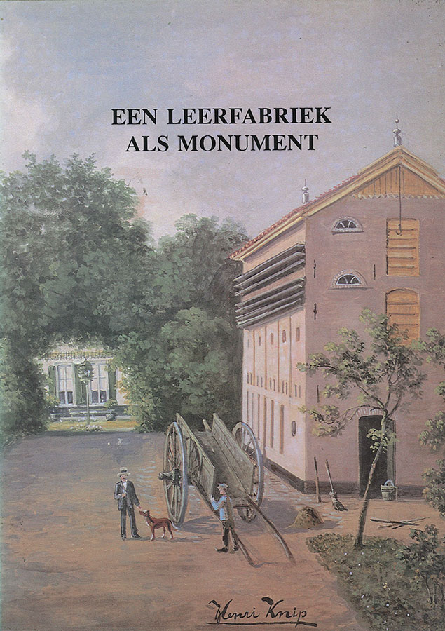 Cover of Een leerfabriek als monument