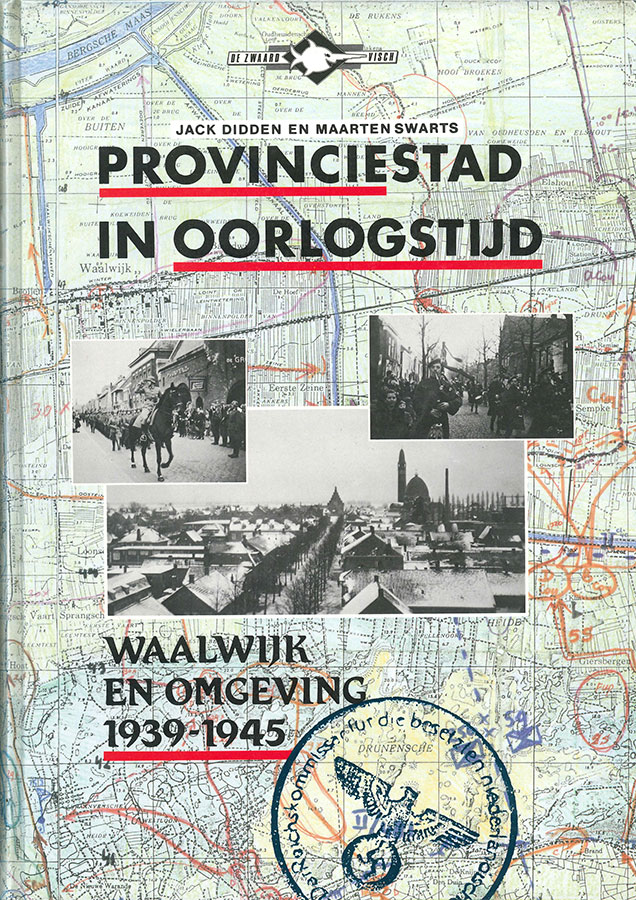 Cover of Provinciestad in oorlogstijd